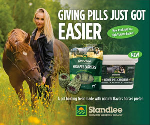 Standlee Horse Pill Carriers